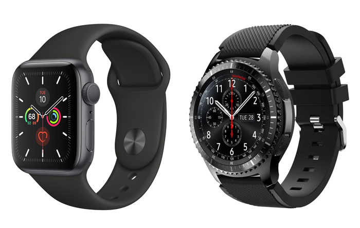 eSIM-horloges: Apple Watch en Samsung Gear